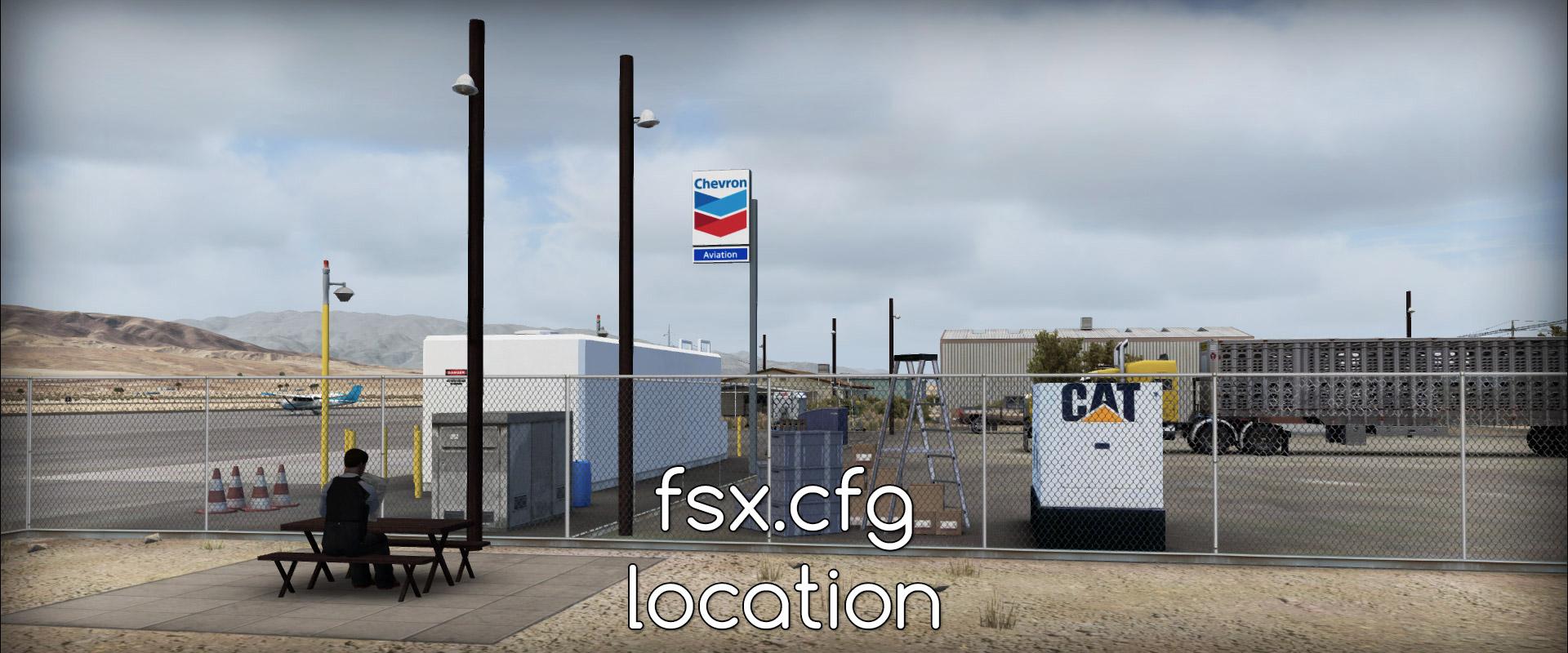 fsx.cfg location