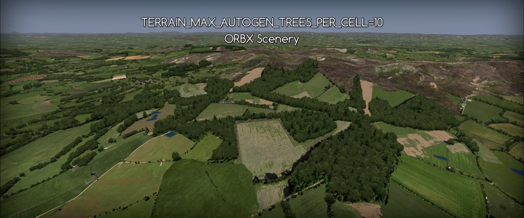 No luck with ORBX FTX Scottland (Extremely Dense autogen setting)