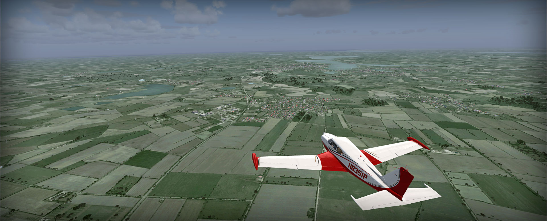 Northern Germany - VFR route #1