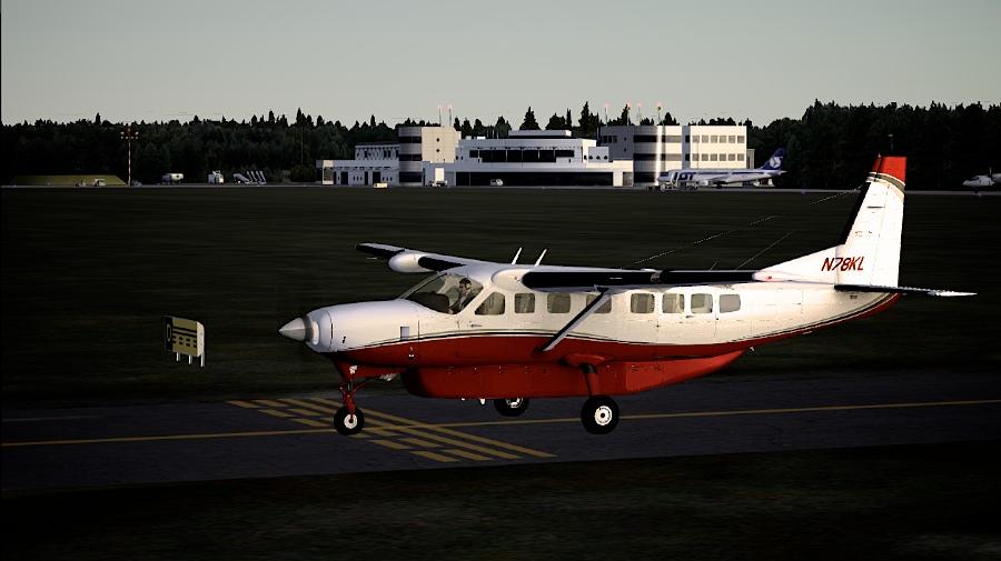 Cessna Caravan in Szczecin (EPSC)