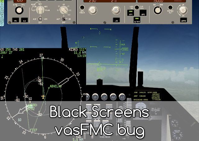 Black Screens vasFMC bug - solution