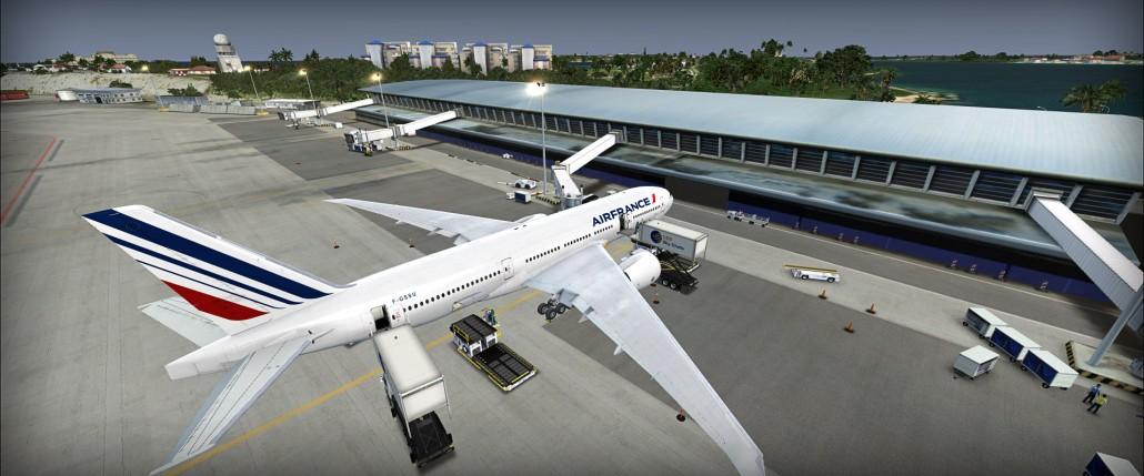 Air France 777 @ St. Maarten