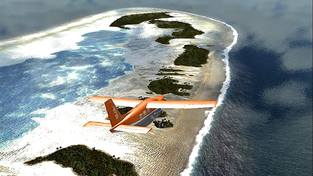 Atolls of Tuvalu - PacSim - review (4*) • C-Aviation