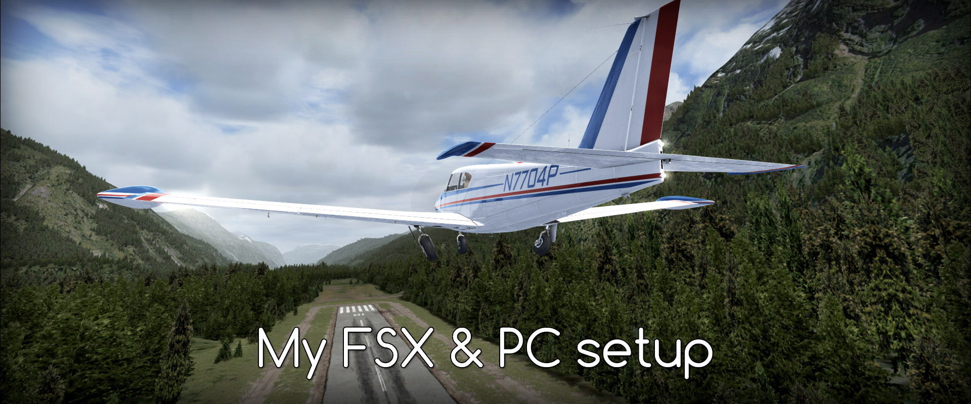 My FSX & PC setup