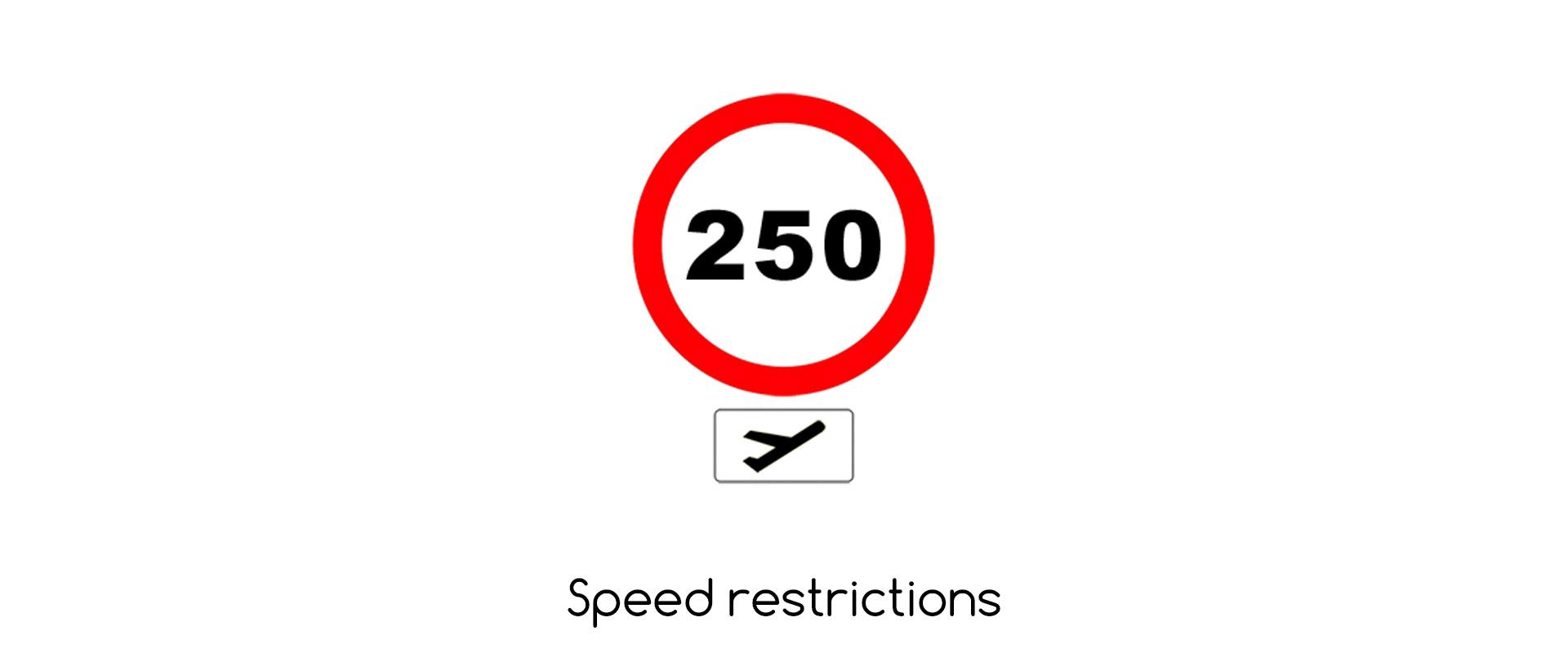 Aircraft Speed Limits