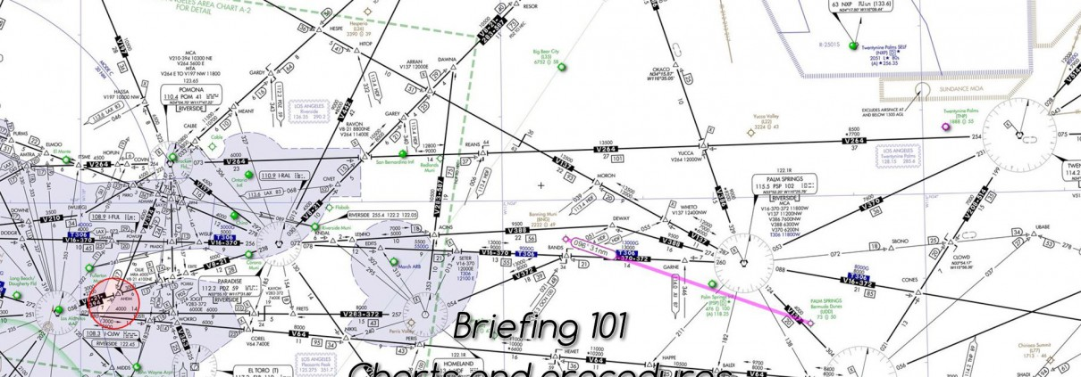 Briefing - where to find charts and procedures? • C-Aviation