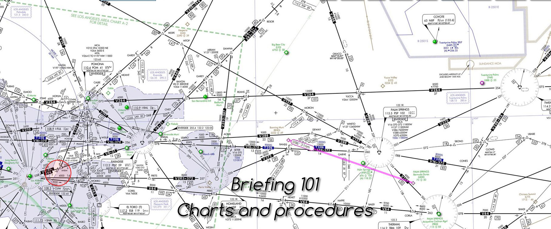 Briefing where to find charts and procedures c aviation