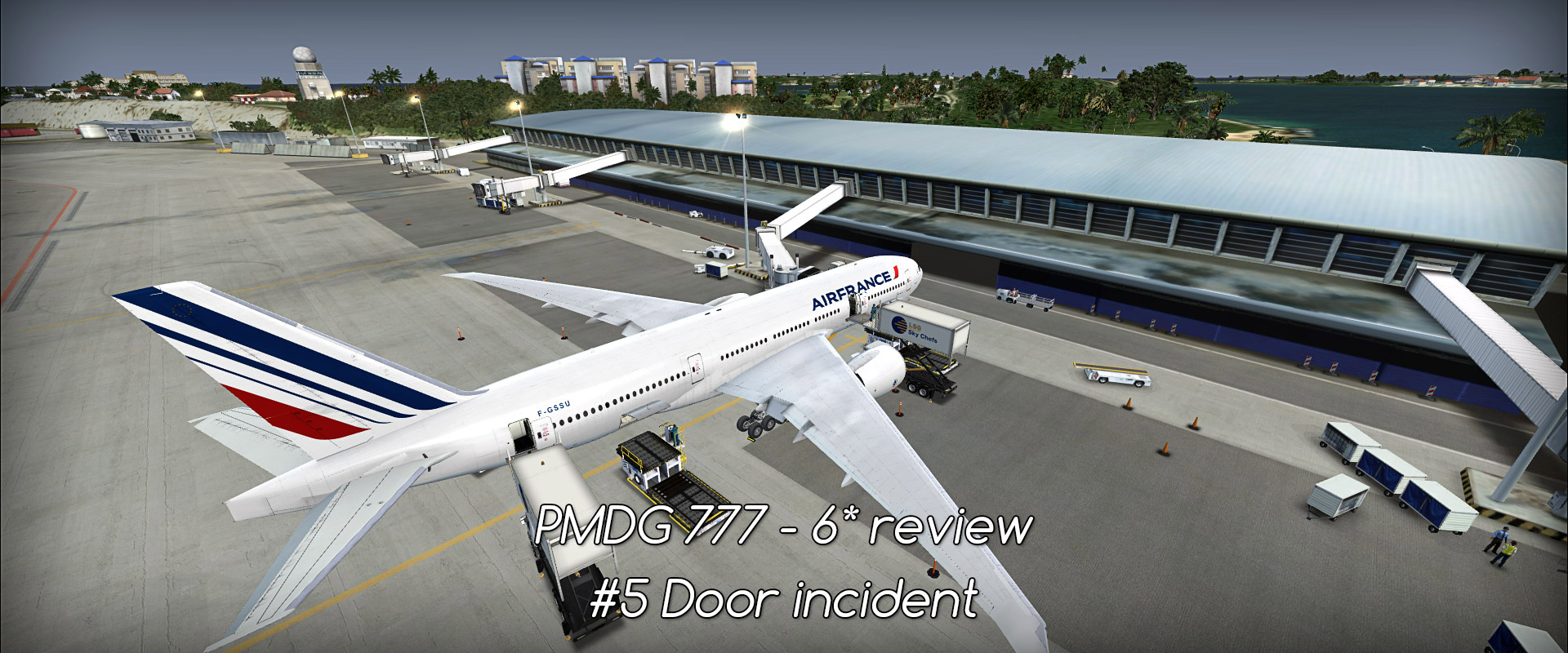 Boeing 777 - PMDG - review (6*) • C-Aviation