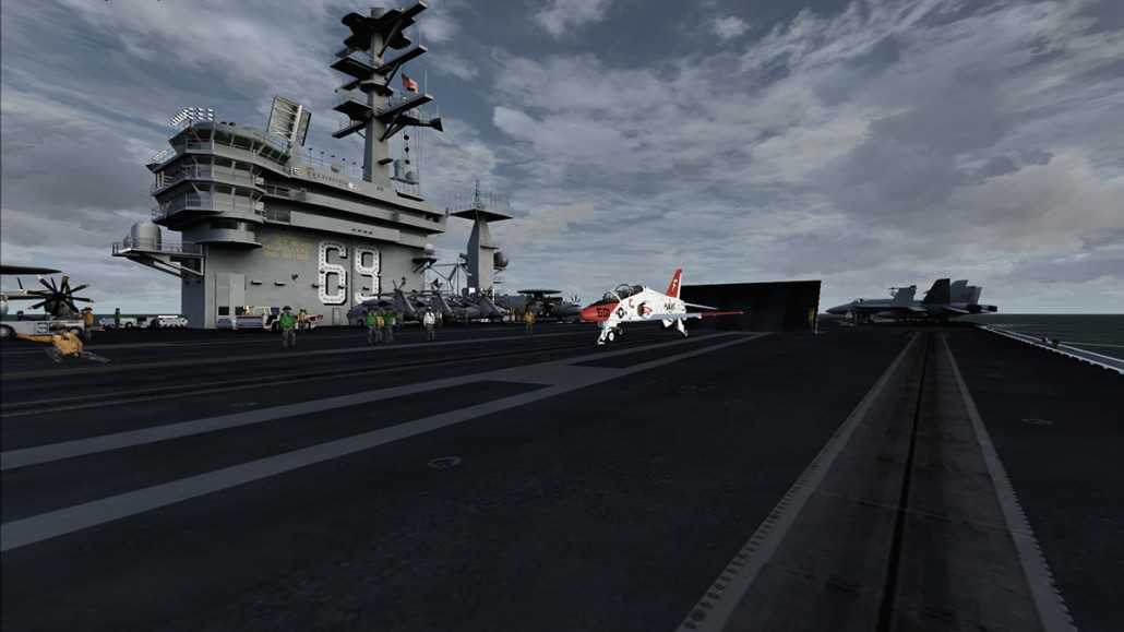 Aircraft Carriers in FSX (freeware guide) • C-Aviation