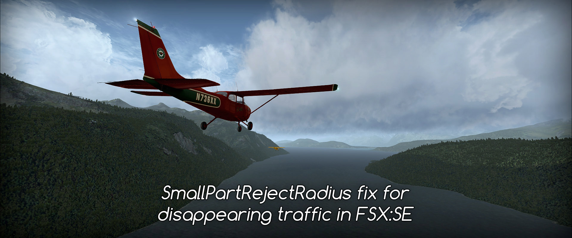 SmallPartRejectRadius - fix disappearing traffic in FSX Steam • C