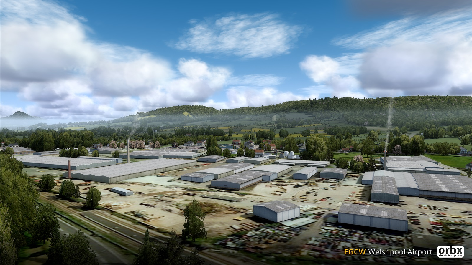 ORBX EGCW Welshpool Airport - Released