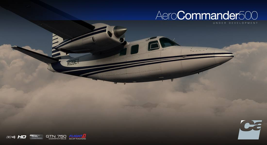 Carenado Aero Commander 500 - preview