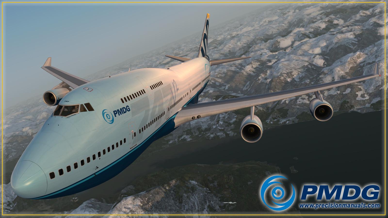 A Whole Lotta 747-400 Goodness!