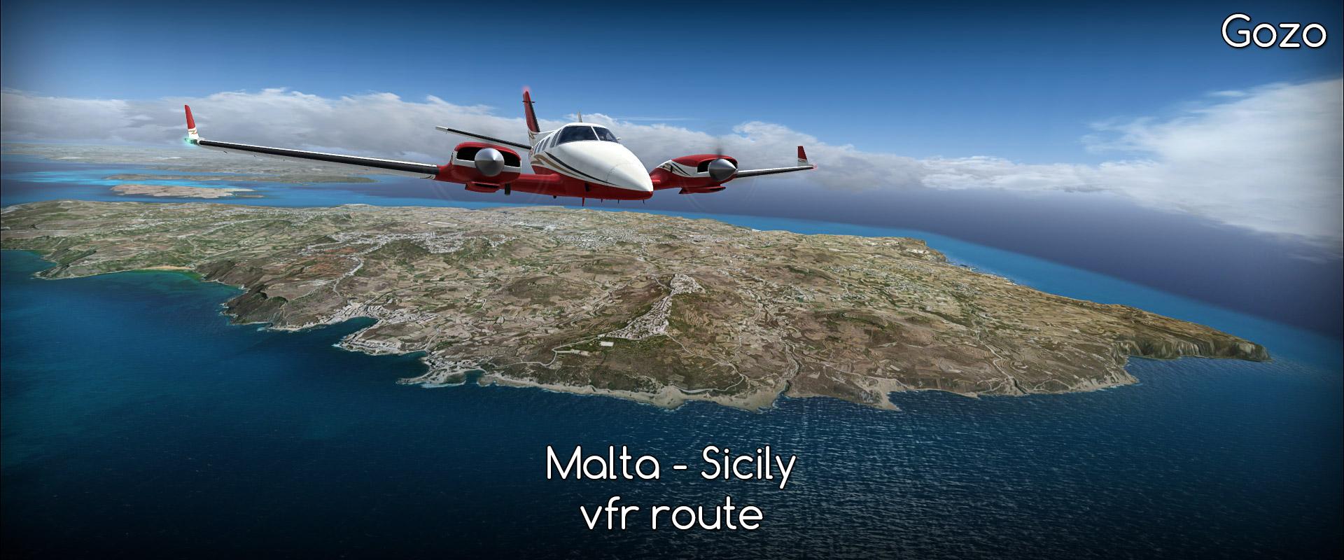 Malta - Palermo, Sicily (LMML-LICJ)