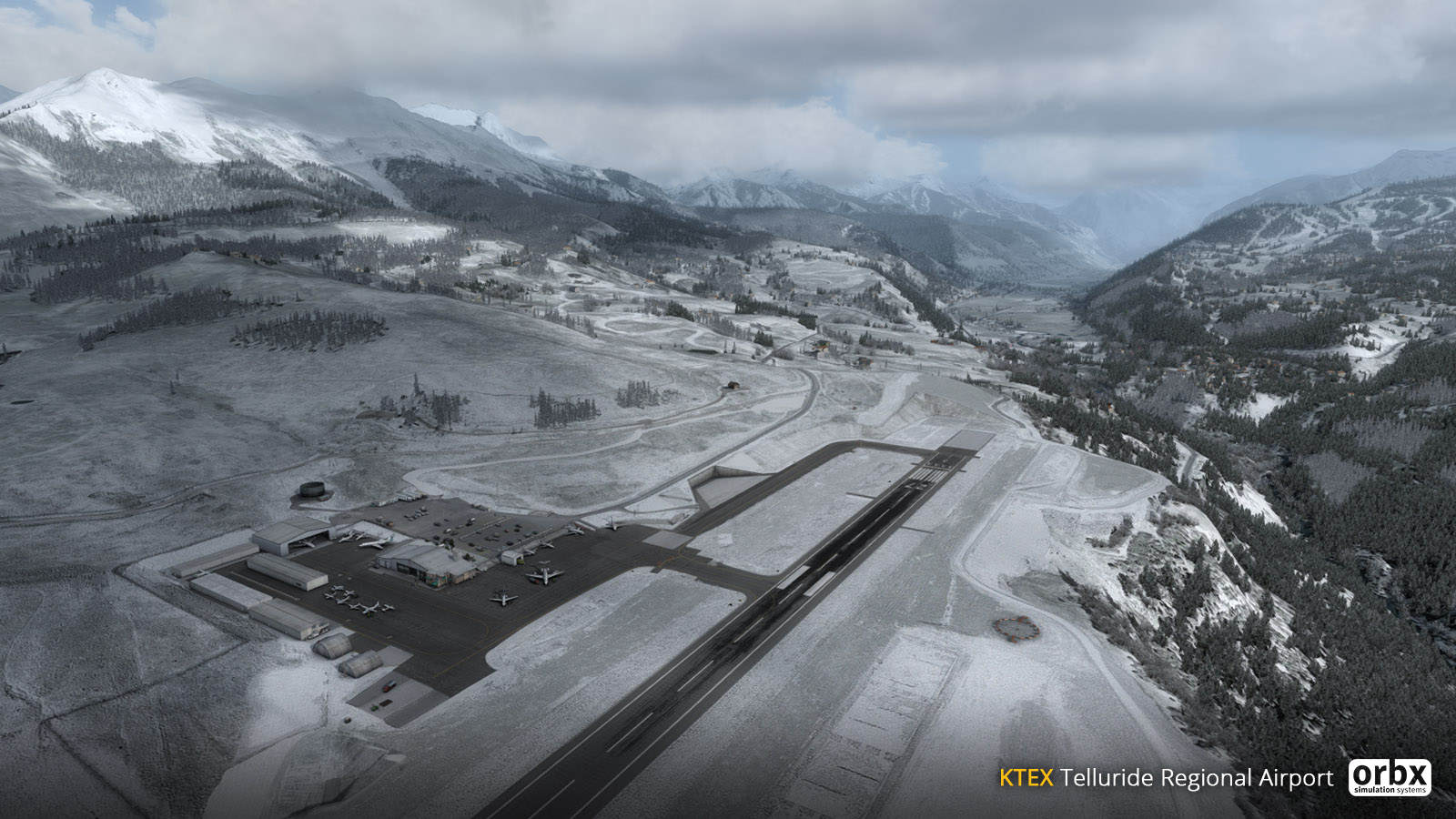 Telluride (KTEX) – more images from ORBX's Jarrad Marshall
