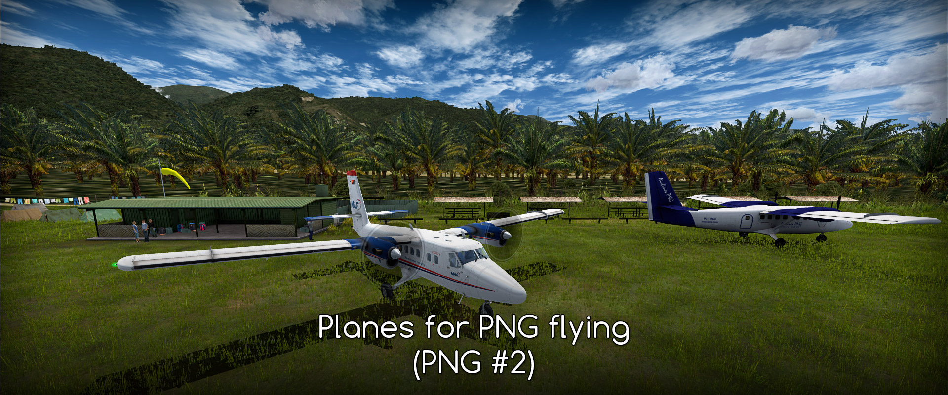 PNG #2 – FSX/P3D planes for PNG flying