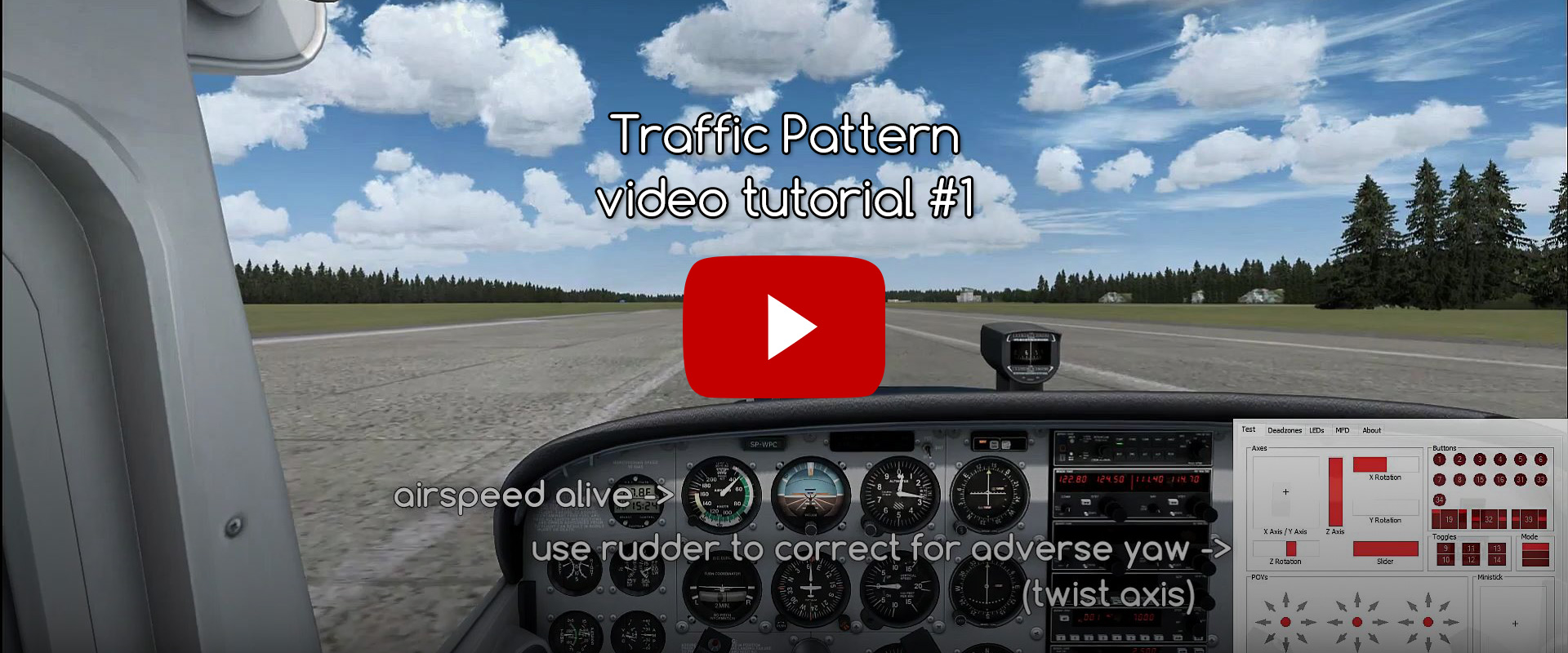 Traffic pattern - video tutorial - part #1