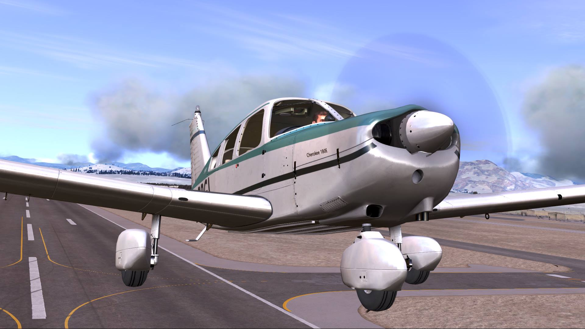 DTG Flight School - Piper Cherokee preview