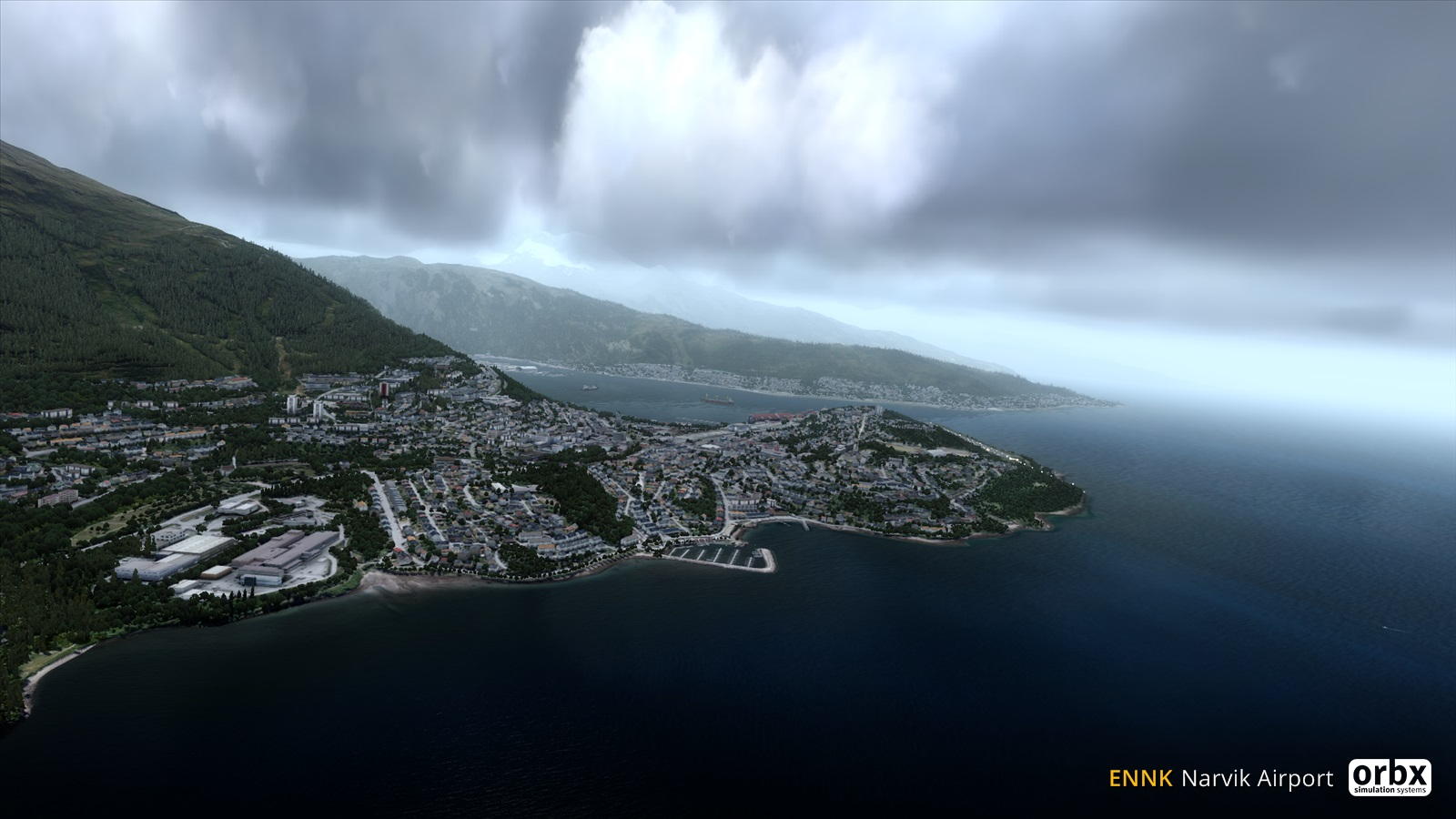 Narvik ENNK from ORBX - preview screenshots