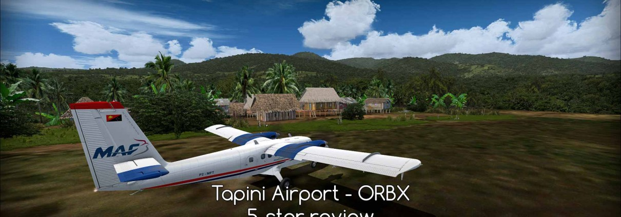 TAP Tapini Airport - ORBX - review (5*) PNG#4 • C-Aviation