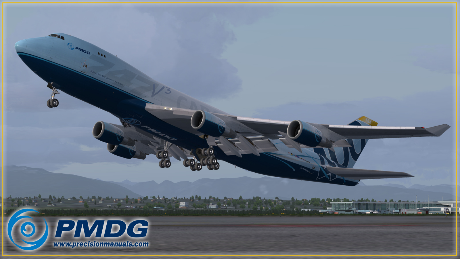 PMDG 747-400 Queen of the Skies II: 747-400F preview