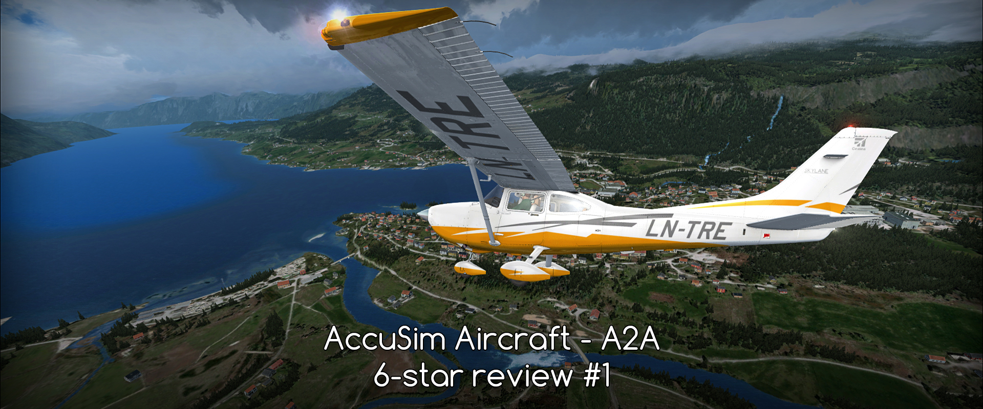 A2A – AccuSim GA aircraft – megareview (C172, C182, PA24) – #1