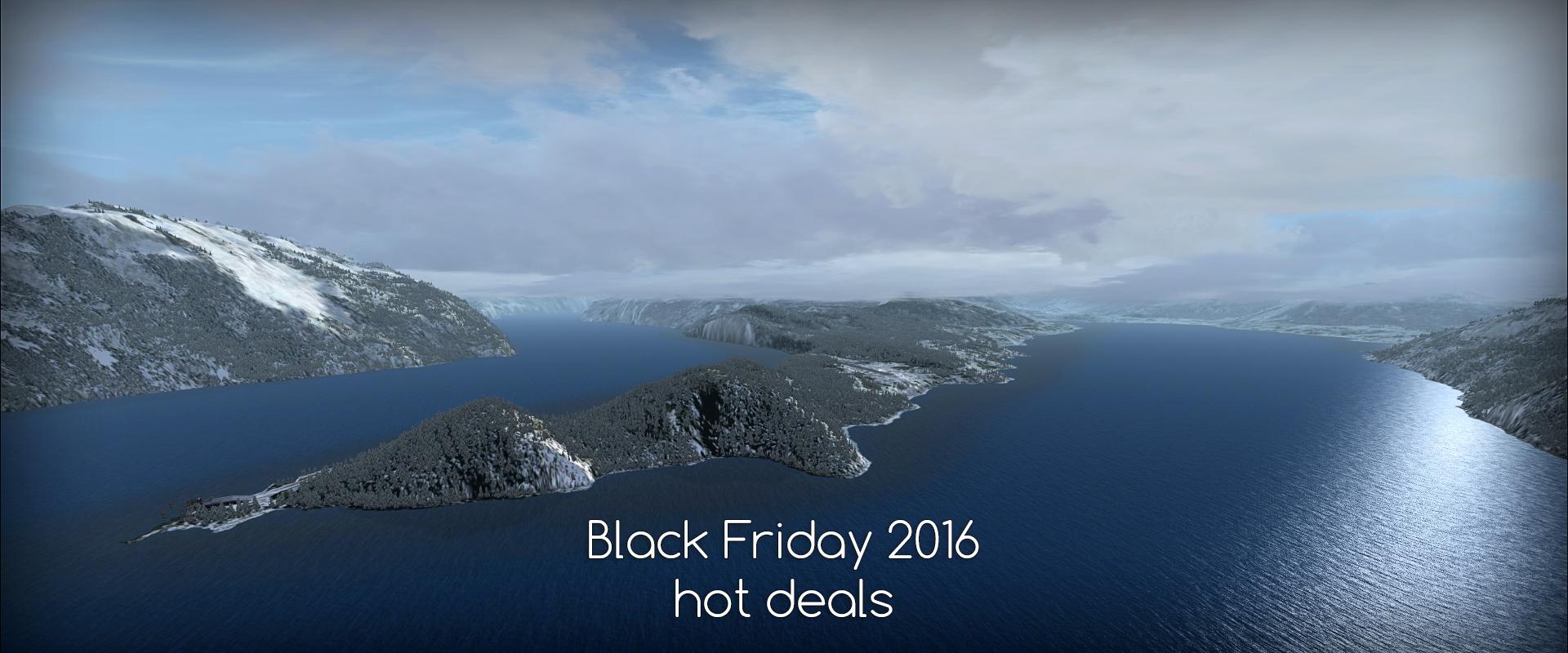 Black Friday 2016 - hot deals / recommendations