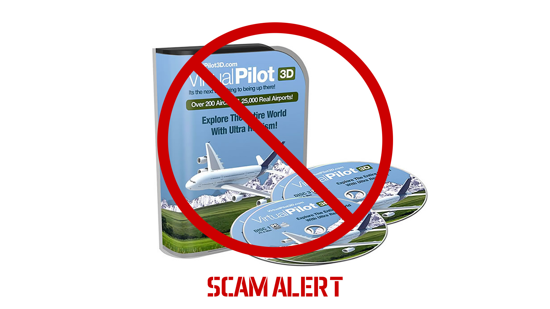 Flight Simulator 2017 - scam alert