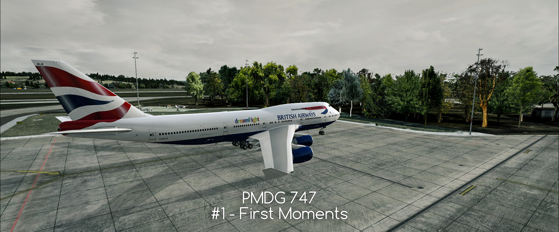 PMDG 747 #1 - my first flight