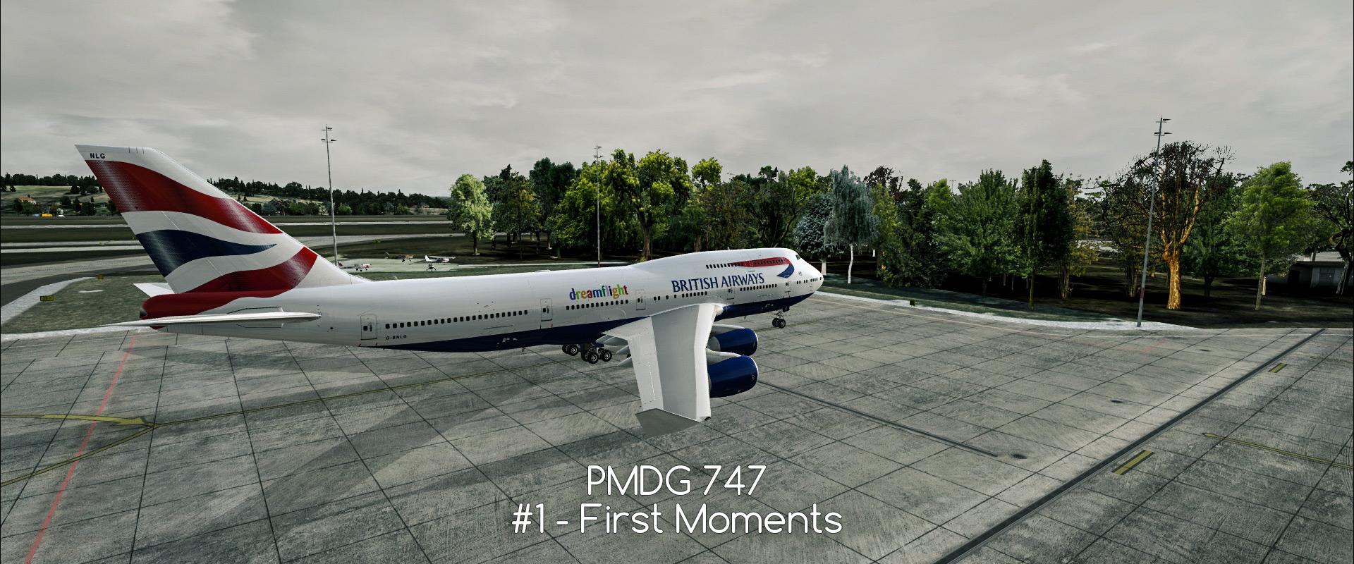 PMDG 747 #1 - my first flight