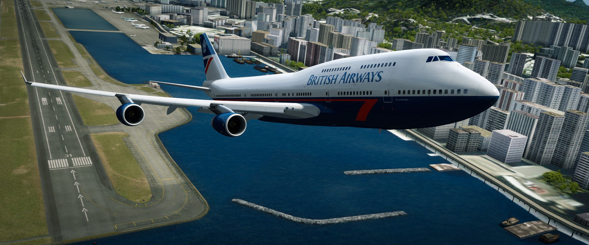 Flaps - 737 vs 747 #1 • C-Aviation